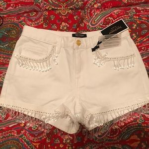 White Juicy Couture Shorts